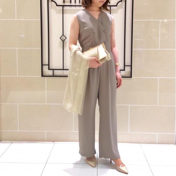 【限定☆50%OFF】ユニホーム風パンツドレス♪