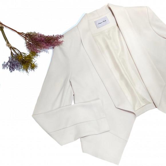 【結婚式での防寒対策に…】ドレス用ジャケット