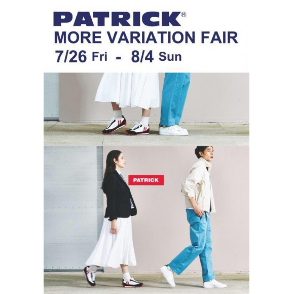 PATRICK★MORE VARIATION FAIR