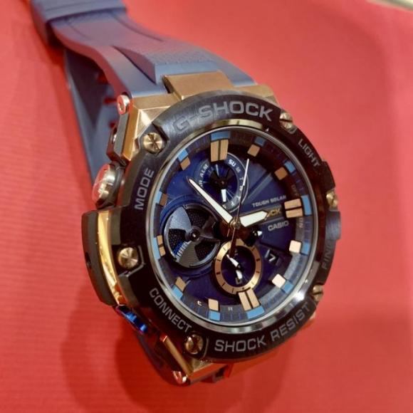 【NEW!】 ブルーのG-STEEL 【G-SHOCK】