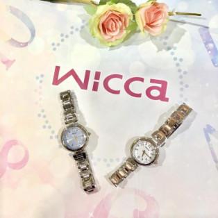 香水瓶や花の香りをイメージした腕時計 【Wicca】