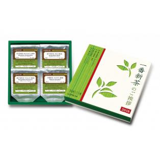 厳選した新茶4種のセット
