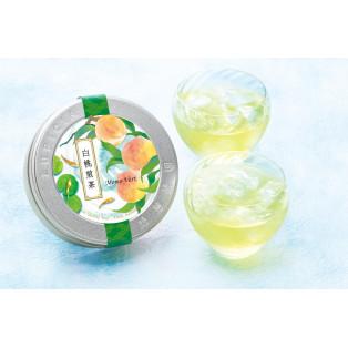 夏はアイスティーで涼やかに 白桃煎茶