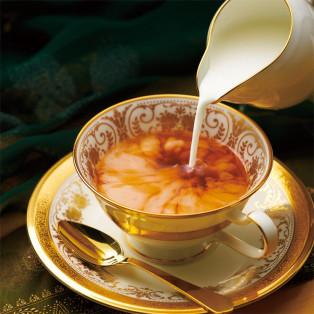 旬のアッサムで楽しむ 極上ミルクティー