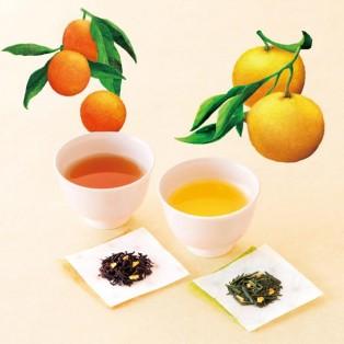 和の柑橘が香るお茶