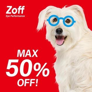 Zoff20周年・お客様還元セール「Z-off SALE」実施中