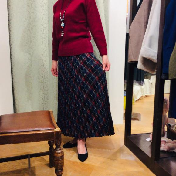 ♪プリーツスカート♪