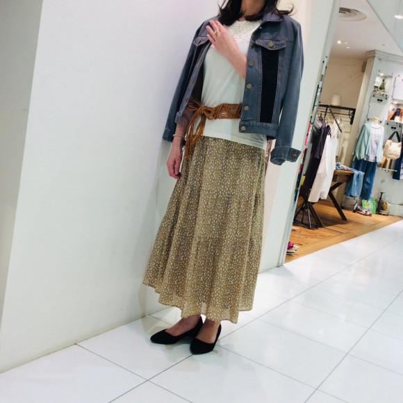 ♪ティアードスカート♪