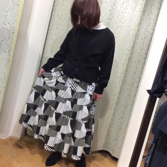 ♪新作ロングスカート♪