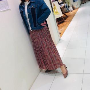 ♪ペイズリー柄スカート♪
