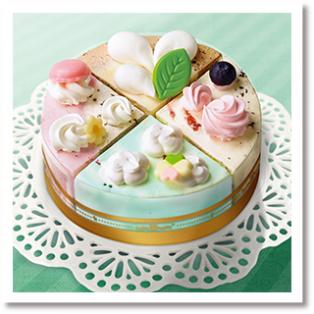 アイスクリームケーキ パレット4