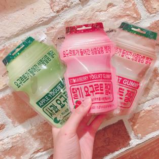韓国で人気のヨーグルトグミに新味登場♡