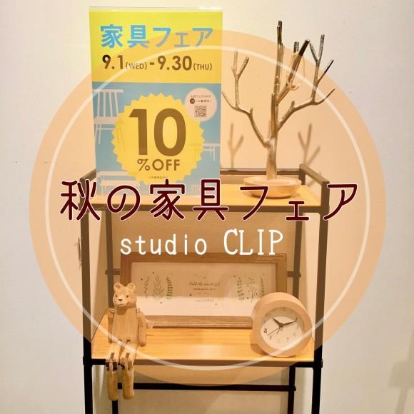 ☆秋の家具フェア☆