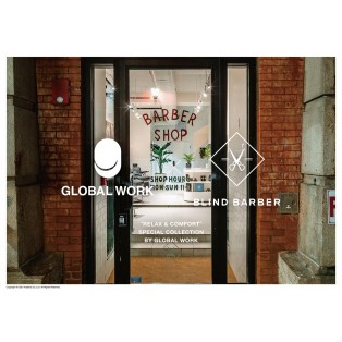 BLIND BARBER×GLOBAL WORK コラボ商品‼︎
