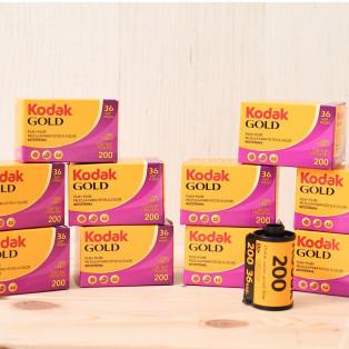 35mmカラーネガフィルム kodak GOLD200 入荷しました!