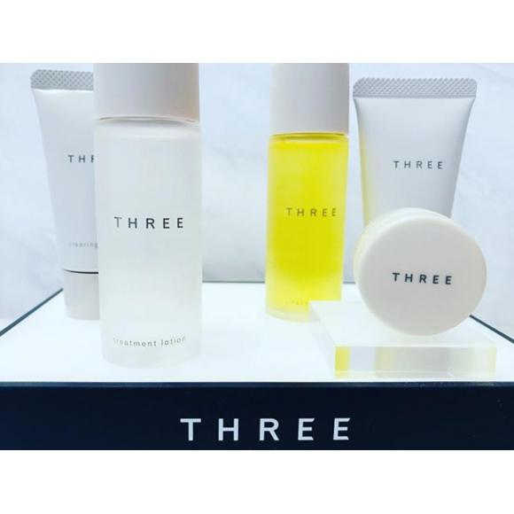 【THREE】トライアルキット!