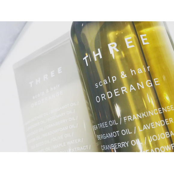 【THREE】オーダレンジシャンプー!