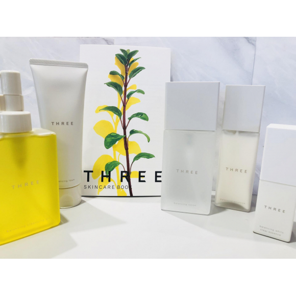 【THREE】スキンケア