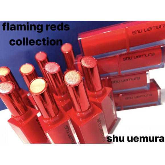 【shu uemura】flaming reds collection