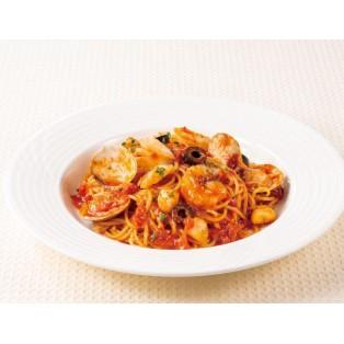 ガツン!とした旨みが魅力のトマトソーススパゲティ