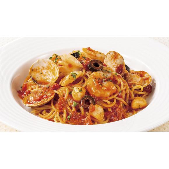 魚介のスパゲティトマトソース 税込1,275円