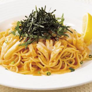ウニと明太子のスパゲティ 税込1,232円