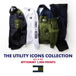 THE UTILITY ICONS COLLECTION 対象商品購入でMYTOMMY 1000ポイント プレゼント!
