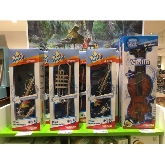 イタリア生まれのおもちゃ楽器「BONTEMPI」入荷!