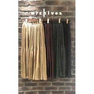 新作♡定番の消しプリーツスカート