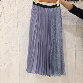 レーシープリーツスカート♪