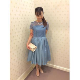 新作♡袖付きドレス