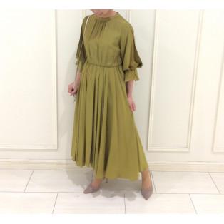 新作☆袖付きドレス