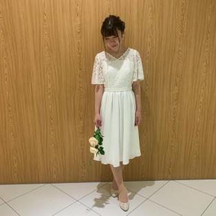 AIMERのプチウェディングドレス♡