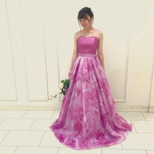 美しさをドレスに込めて
