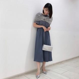 新作袖付きドレス♡