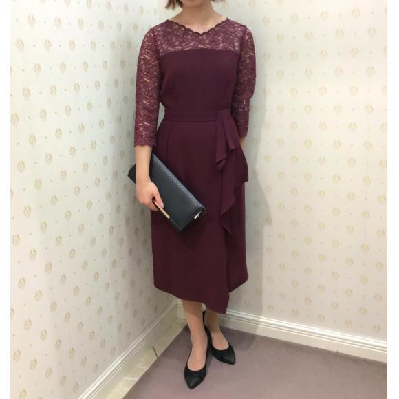 秋色☆タイトドレス