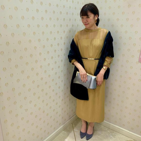 大人な印象♡ペンシルスカートドレス