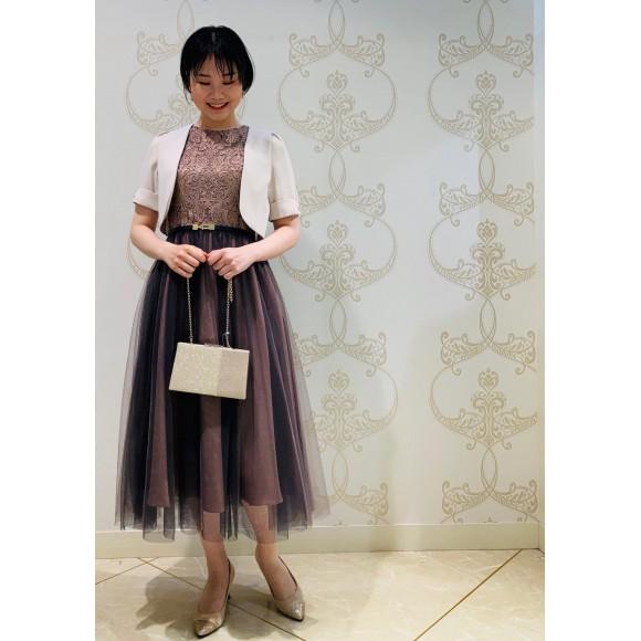チュールスカートドレス♡