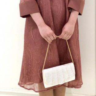 袖付き☆Aラインドレス