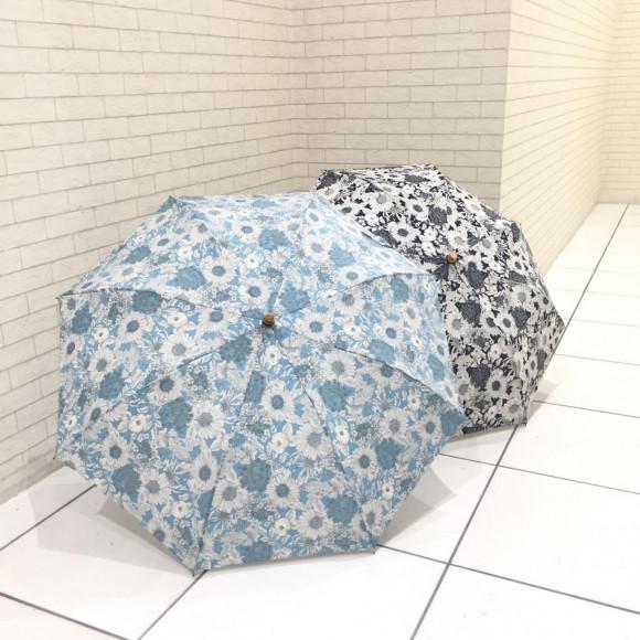 リバティプリント晴雨兼用パラソル