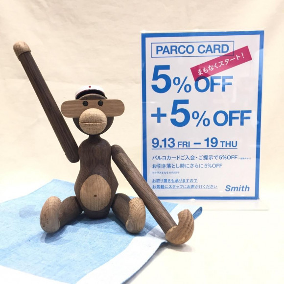 【PARCO CARD SALE】お取り置き開始しております!