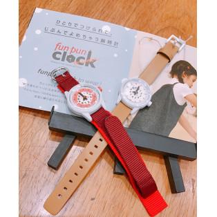 「fun pun clock(ふんぷんくろっく)」本日発売