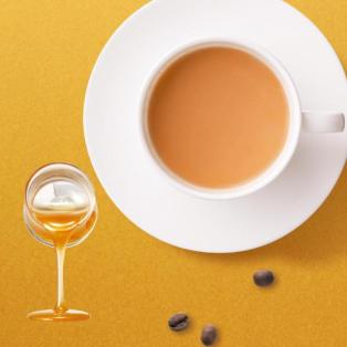日本蜂蜜のミルク珈琲