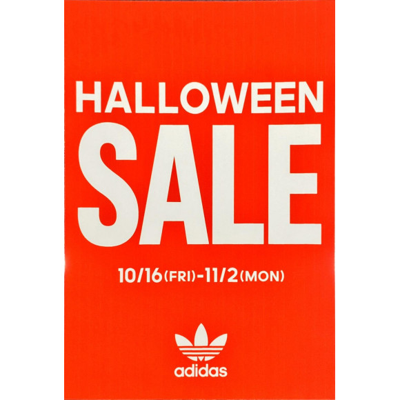 *adidas oliginals HALLOWEEN SALE開催中*