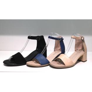SHAPE 35 BLOCK SANDAL Ankle Strap