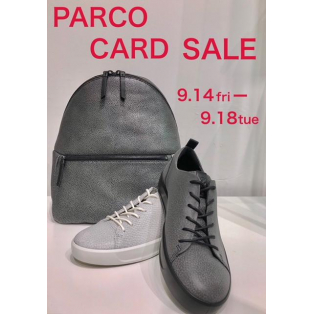 PARCO CARD SALE 明日より開催!!