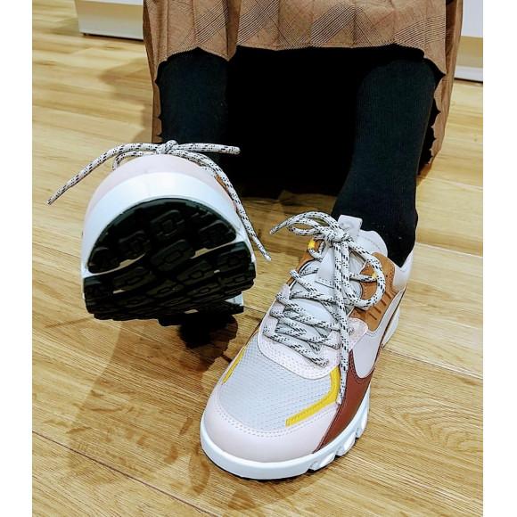 【ecco】マルチカラーの防水スニーカー☆