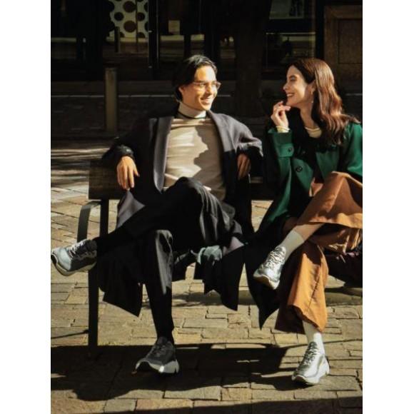 【ecco】履くだけでオントレンドなCOUPLE STYLE♡