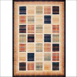 ノマドラグ(ブロック柄)95×140