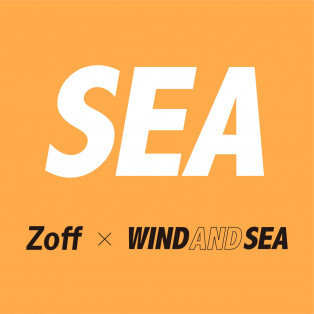 ZoffとWIND AND SEA初となるコラボレーション「Zoff×WIND AND SEA」